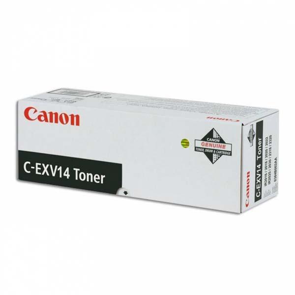 Canon C-EXV14 BK - originálny toner, čierny, 8300 strán
