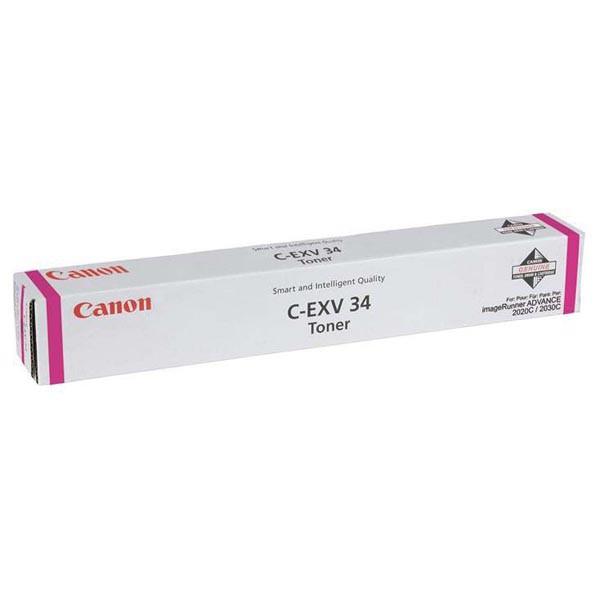 Canon C-EXV34 M - originálny toner, purpurový, 19000 strán