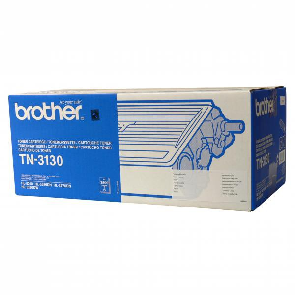 BROTHER TN-3130 - originálny toner, čierny, 3500 strán