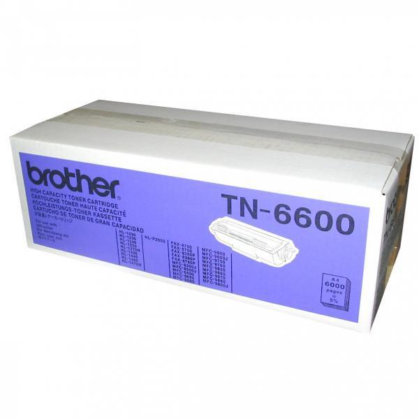 BROTHER TN-6600 - originálny toner, čierny, 6000 strán