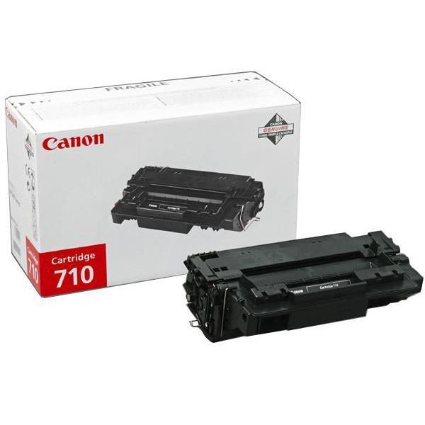 Canon originál toner CRG710, black, 6000str., 0985B001, Canon LBP-3460