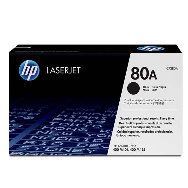 HP CF280A - originálny toner HP 80A, čierny, 2700 strán