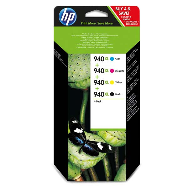 HP originál ink C2N93AE, CMYK, blister, HP 940XL, HP