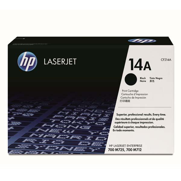 HP CF214A - originálny toner HP 14A, čierny, 10000 strán