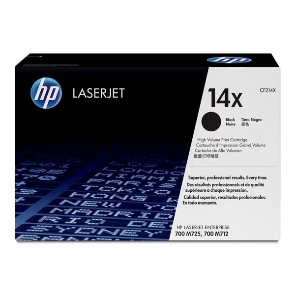 HP CF214X - originálny toner HP 14X, čierny, 17500 strán