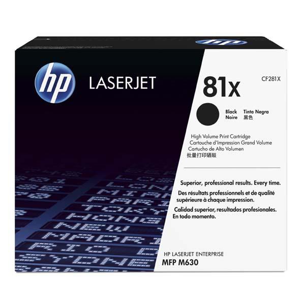 HP CF281X - originálny toner HP 81X, čierny, 25000 strán
