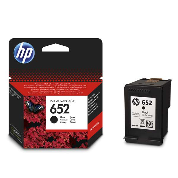 HP originál ink F6V25AE, HP 652, black, 360str., HP DeskJet IA 4530, 4535, 4675, 1115, 2135, 3635