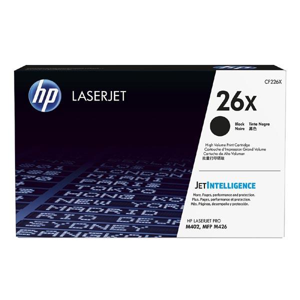 HP CF226X - originálny toner HP 26X, čierny, 9000 strán