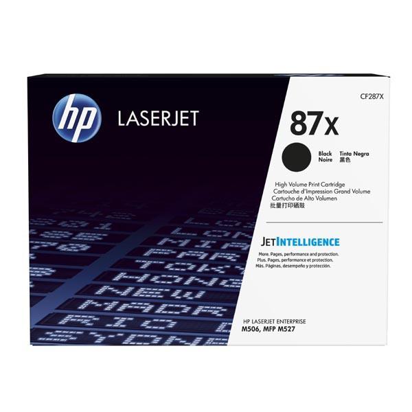 HP CF287X - originálny toner HP 87X, čierny, 18000 strán
