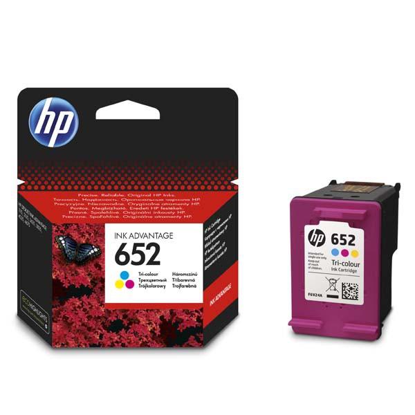HP originál ink F6V24AE, HP 652, color, blister, 200str., HP Deskjet IA 4535, 4675, 1115, 2135, 3635, 3835