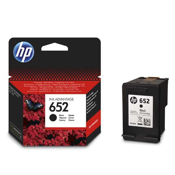 HP originál ink F6V25AE, HP 652, black, blister, 360str., HP Deskjet IA 4535, 4675, 1115, 2135, 3635, 3835