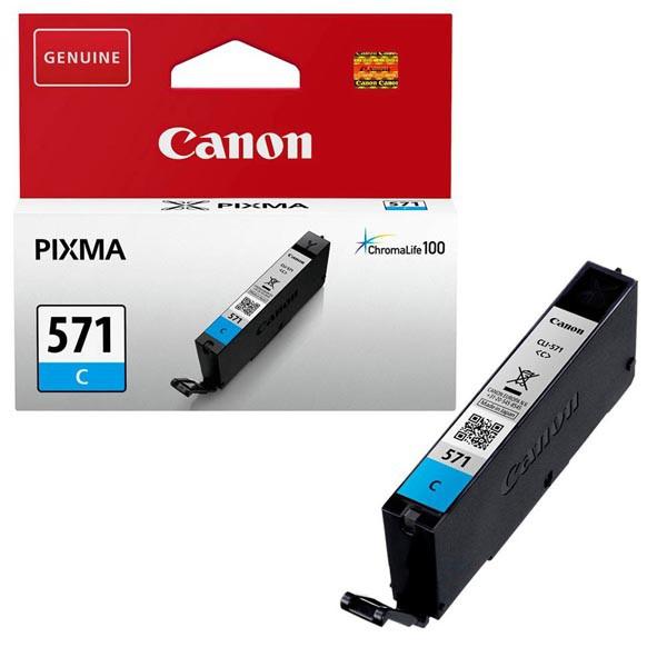 Canon originál ink 0386C001, cyan, 345str., 7 1ks, Canon PIXMA MG5750, MG5751, MG5752, MG5753, MG6851, MG68