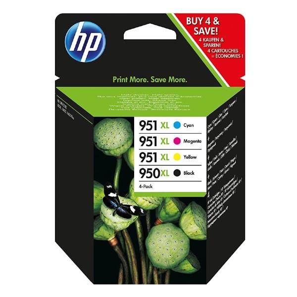 HP originál ink C2P43AE, HP 950XL + HP 951XL, cyan/magenta/yellow/black, blister, 1500/2300str., 4ks, HP Officejet 6100, 6600, 670