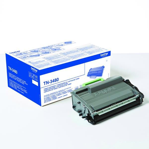 BROTHER TN-850/3485/3448/3442/3480 - originálny toner, čierny, 8000 strán