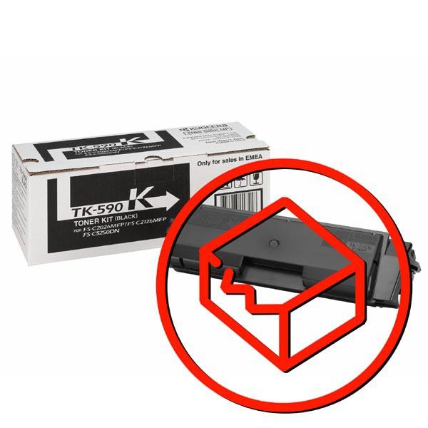 Kyocera originál toner TK590K, black, 7000str., 1T02KV0NL0, Kyocera FS-C 2026/2126MFP, poškodený obal