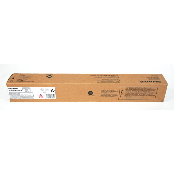 Sharp originál toner MX60GTMA, MX61GTMA, magenta, 24000str., Sharp MX-3050N/3060N/3070N/3550N/3560N/3570N/4050N