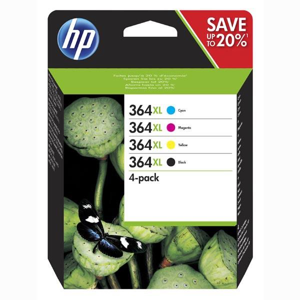 HP originál ink N9J74AE, HP 364XL Combo pack, CMYK, blister, HP Photosmart C5393, Plus B209, Premium C309, Premium