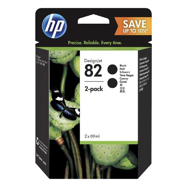 HP P2V34A - originálna cartridge HP 82, čierna, 69ml