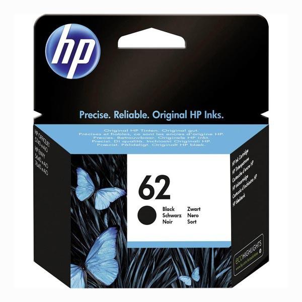 HP C2P04AE - originálna cartridge HP 62, čierna, 200 strán