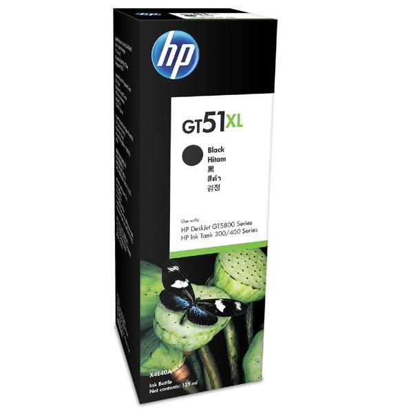 HP X4E40AE - originálna cartridge HP GT51-XL, čierna, 135ml