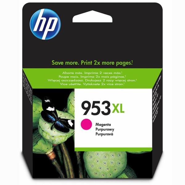 HP originál ink F6U17AE, HP 953XL, magenta, blister, 1600str., 20,5ml, high capacity, HP