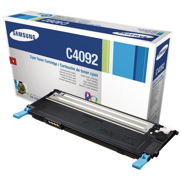 SAMSUNG CLT-C4092S/ELS - originálny toner, azúrový, 1000 strán