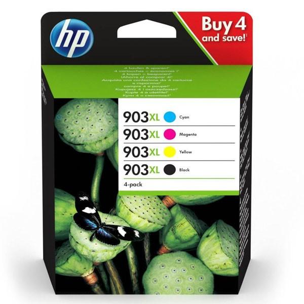 HP originál ink sada 3HZ51AE, HP 903XL, CMYK, blister, 825str., HP