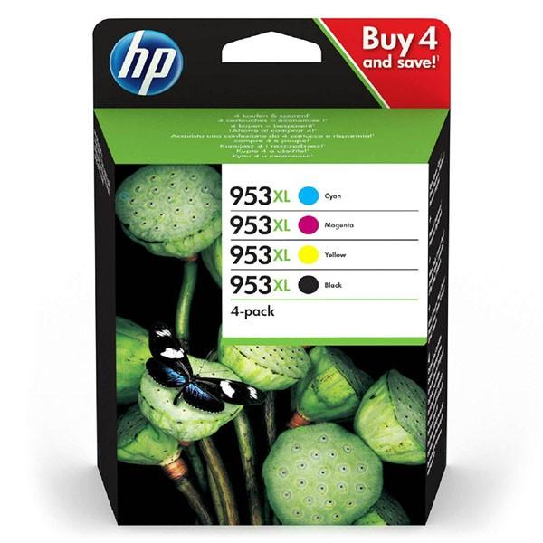 HP originál ink sada 3HZ52AE#301, HP 953XL, CMYK, blister, 1600CMY-2000Kstr., HP Officejet Pro 7720, 7730, 7740, 8218, 8710, 8715