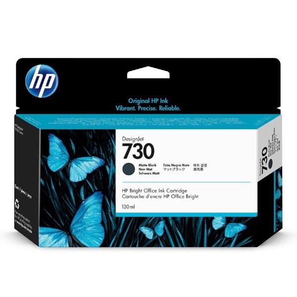 HP P2V65A - originálna cartridge HP 730, čierna, 130ml