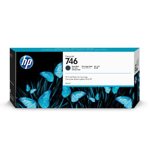 HP P2V83A - originálna cartridge HP 746, čierna, 300ml