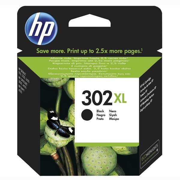 HP originál ink sada F6U68AE, HP 302XL, black, blister, 480str., 8,5ml, HP