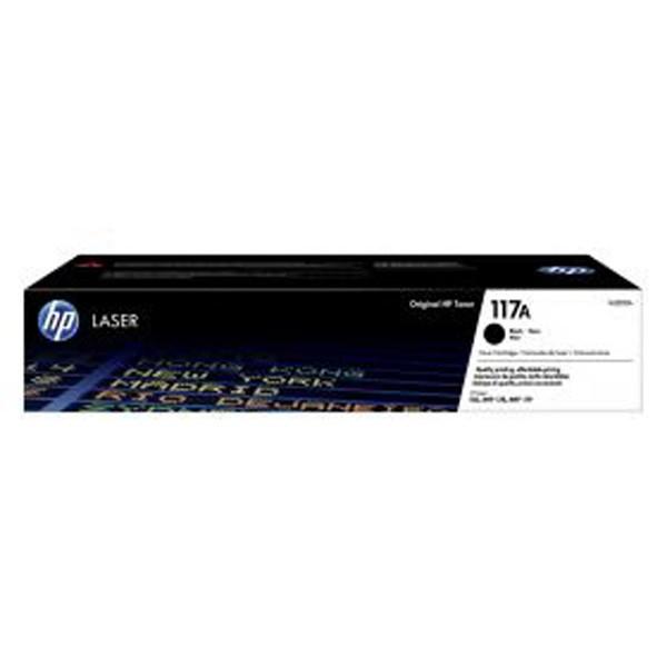 HP W2070A - originálny toner HP 117A, čierny, 1000 strán