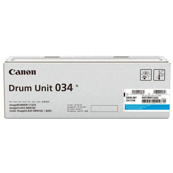 Canon originál válec 9457B001, cyan, 34000str., Canon iR-C1225, C1225iF