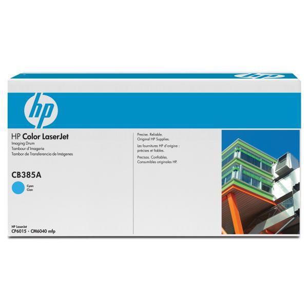 HP CB385A - originálna optická jednotka, azúrová, 35000 strán