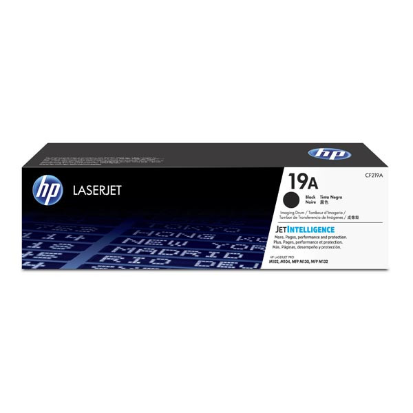 HP originál válec CF219A, HP 19A, black, HP 19A, 12000str., HP LaserJet Pro M102,104,MFP M130a,132