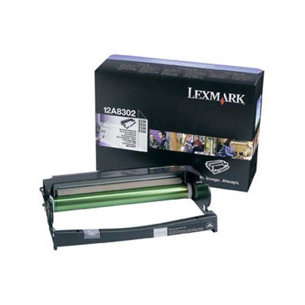 Lexmark 12A8302 - originálna optická jednotka, čierna, 30000 strán