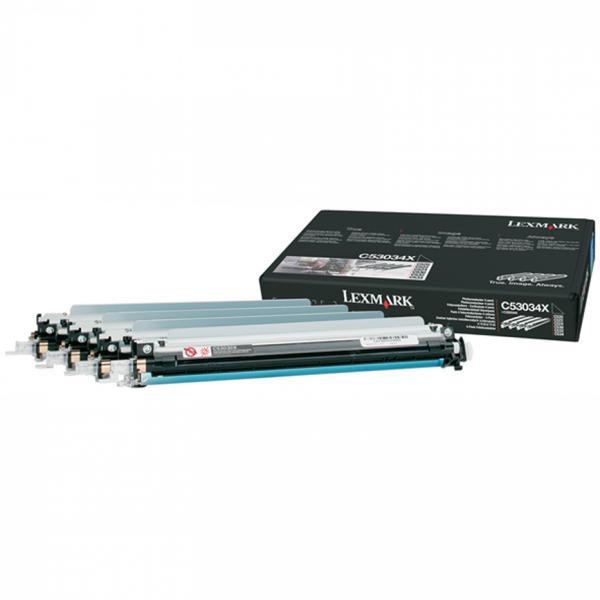 Lexmark C53034X - originálna optická jednotka, farebná, 4x20000