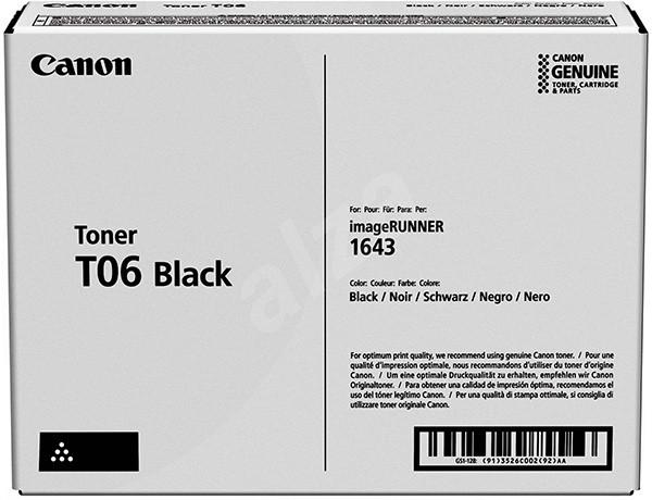 Canon T-06 BK - originálny toner, čierny, 20500 strán