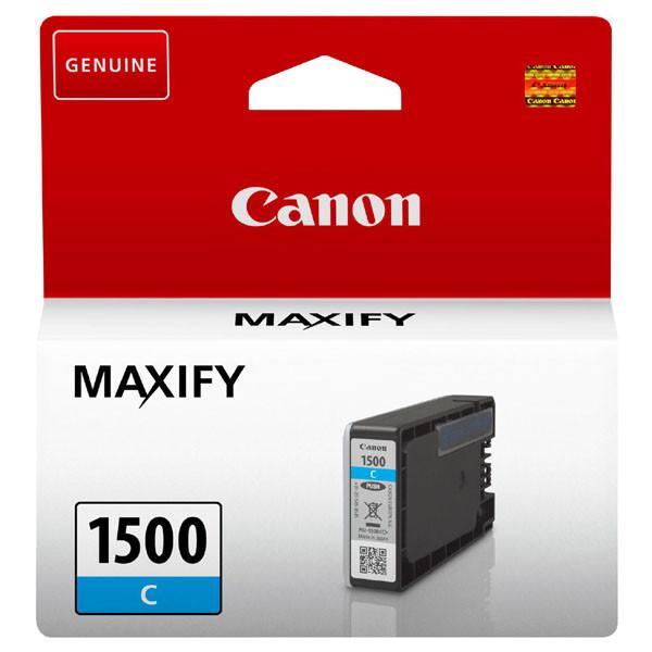 Canon PGI-1500 C - originálna cartridge, azúrová, 300 strán
