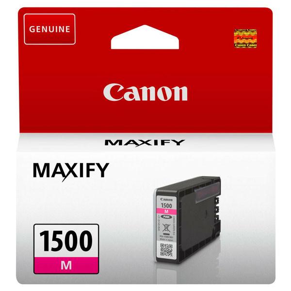 Canon PGI-1500 M - originálna cartridge, purpurová, 300 strán