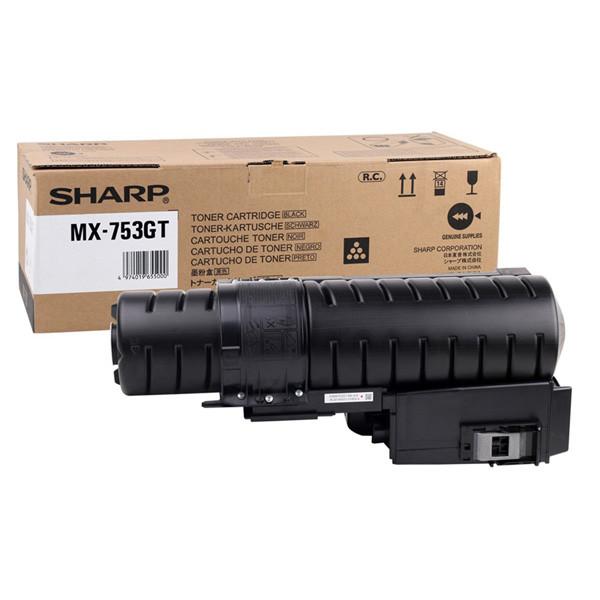 Sharp originál toner MX-753GT, black, 21000str., Sharp MX-M623U,  MX-M753U