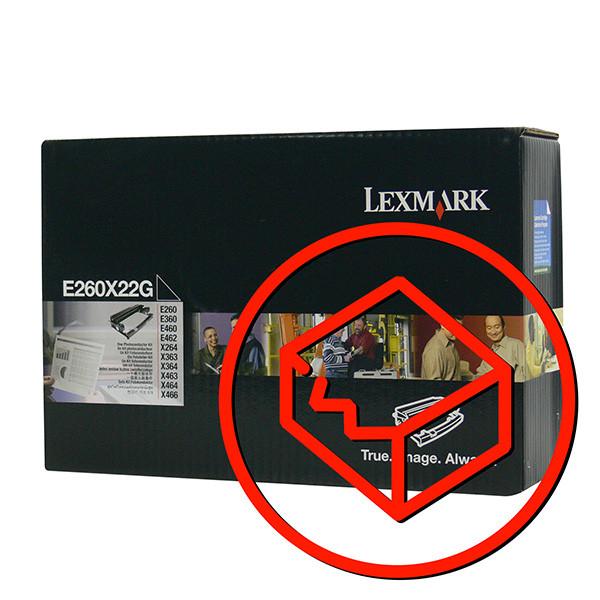 Lexmark originál válec E260X22G, black, poškodený obal, 30000str., Lexmark Optra E260