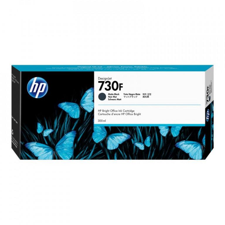 HP 1XB30A - originálna cartridge HP 730F, čierna, 300ml