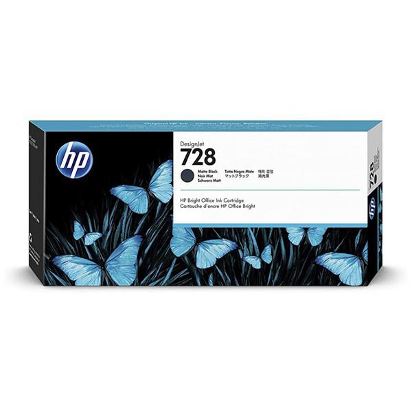 HP 3WX25A - originálna cartridge HP 728, čierna, 130ml